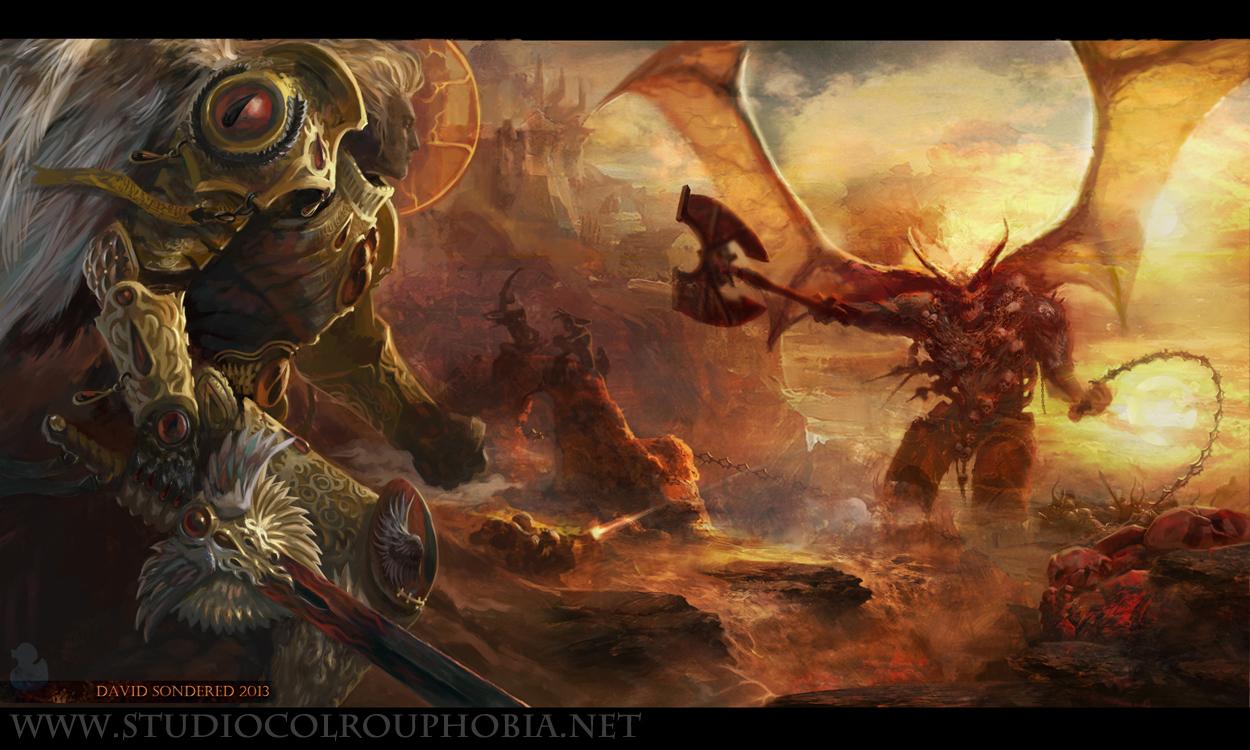 Concepts+Sanguinius Heresy Project... [ARTWORK] - + HALL ...